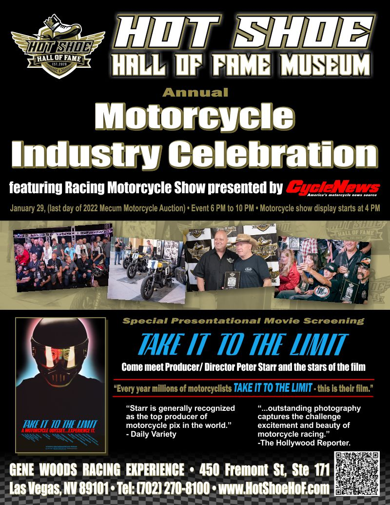 Announcing the Annual Motorcycle Industry Celebration